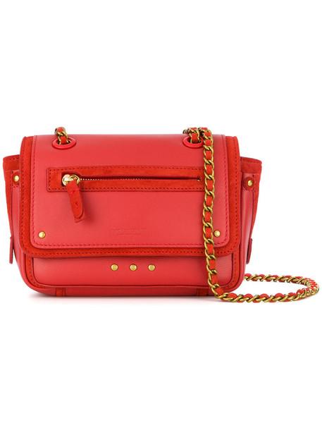 Jerome Dreyfuss women bag shoulder bag leather red