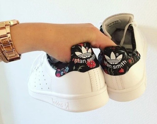 on sale 21cd4 dc092 shoes, stan smith, floral