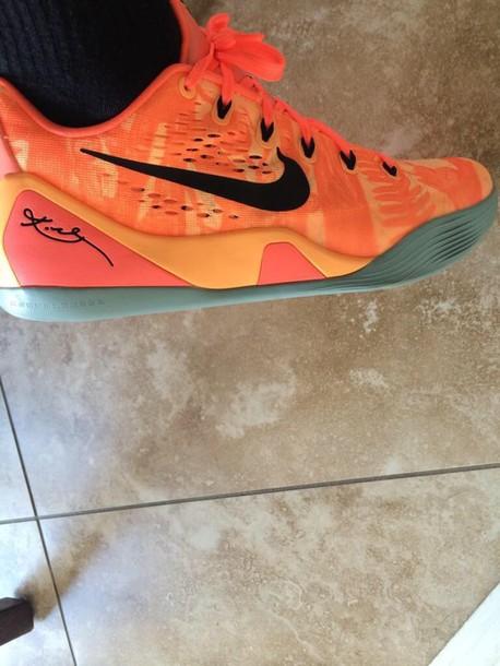 the best attitude 9c104 cd619 orange kobes nike shoes
