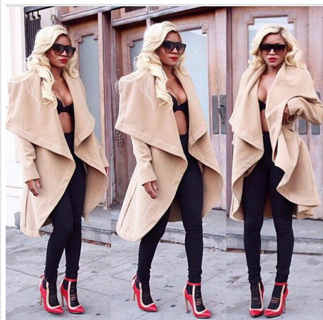 Fashion woolen coat qq1208bb