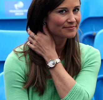 gold jewels watch pippa middleton wristwatch