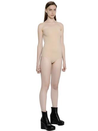bodysuit nude underwear