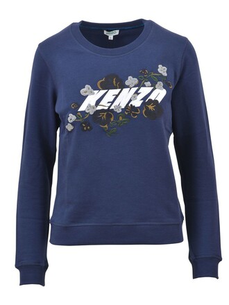 sweatshirt blue sweater