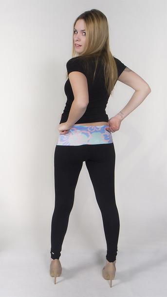 Pants Printed Leggings Teens Fashion Wheretoget
