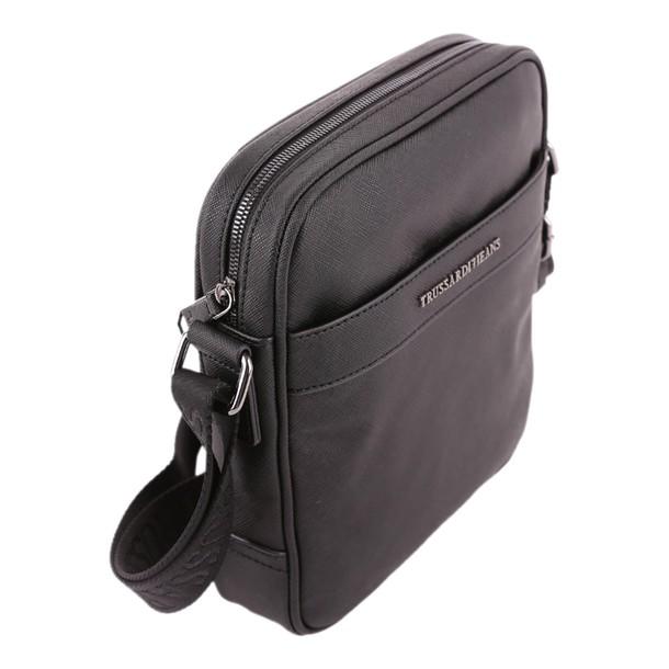 Trussardi new bag shoulder bag leather black