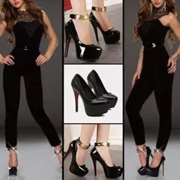 jumpsuit shoes