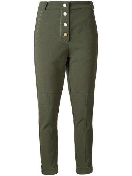 Manning Cartell women spandex green pants