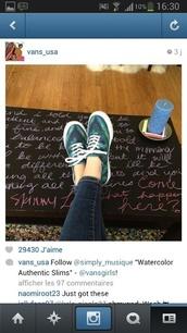 shoes,vans,sneakers,green