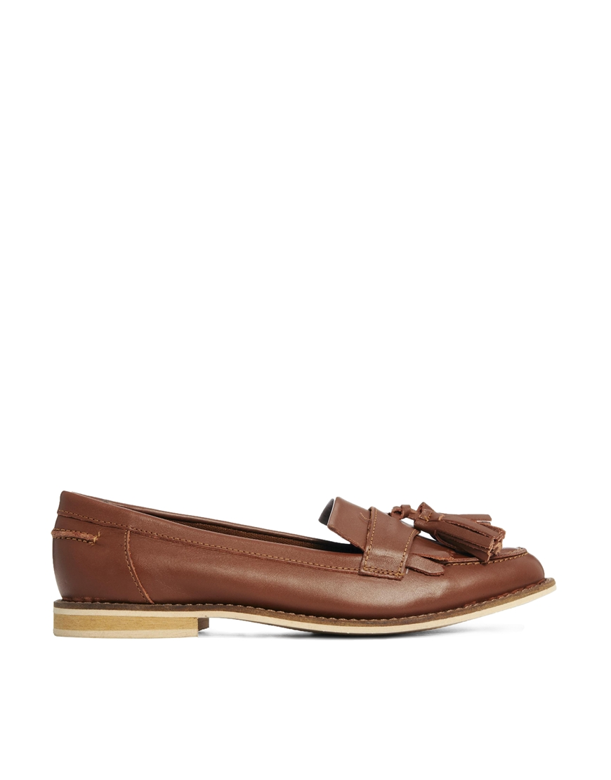 ASOS MARATHON Leather Loafers at asos.com