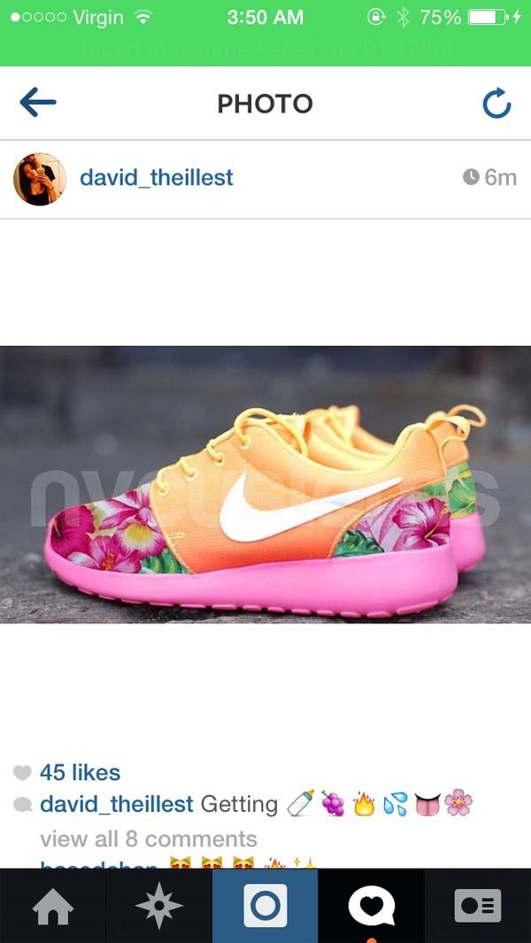 shoes nike roshe run custom