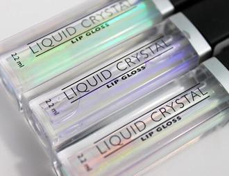 make-up lip gloss grunge prom beauty