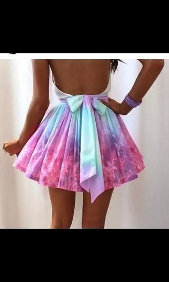 dress to be bright bow dress pastel dress