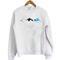 Shark whale dolphin sweatshirt