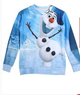 frozen cute sweaters