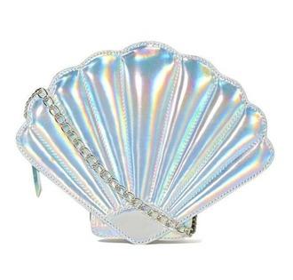 bag shell hologram bag holographic clutch