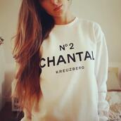 sweater,white,beige,chanel inspired,oversized sweater,shirt,oversized