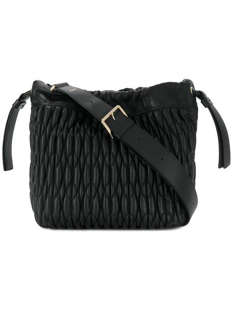 Furla women bag shoulder bag leather black
