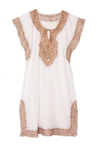 dress white and gold cotton tunic dressss dashiki white dress summer dress gold white morroccan