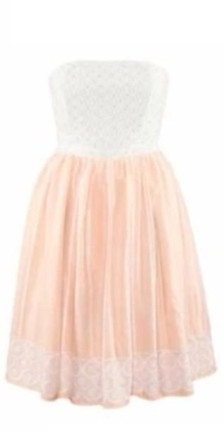 f7d19c69d0f dress summer dress cute dress pastel pastel pink white lace summer outfits  a line dress cute