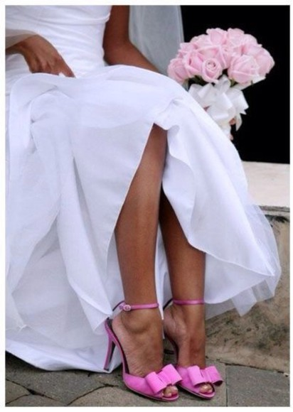 shoes pink wedding shoes