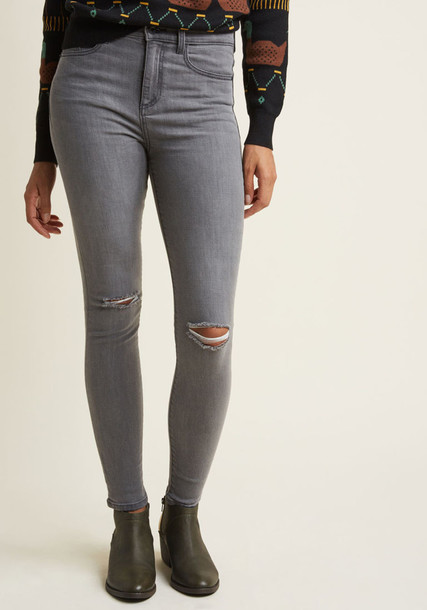 Modcloth jeans skinny jeans cool