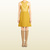 Gucci - silk and leather crossover dress 363199ZDS947050