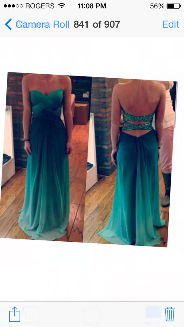 dress turquoise homecoming long dress sequins one shoulder dress aqua baby blue