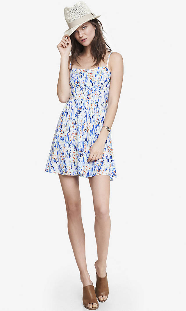 fbdd3319c46 Floral Print Cami Sundress from EXPRESS