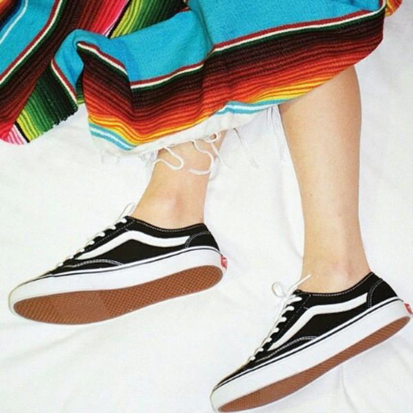 vans old skool old skool vans vans girls sneakers white stripe classic girl