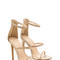 Strappy life single-sole heels black neoncoral nude cobalt red neonyellow white - gojane.com