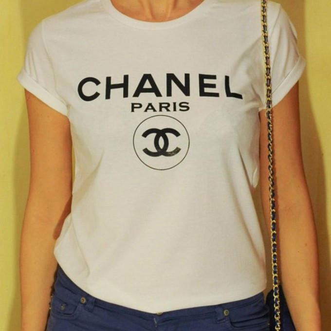 The Best T Shirt Chanel Wheretoget