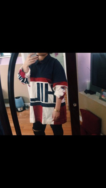 jacket tommy hilfiger polo shirt oversized shirt