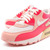 Nike Wmns Air Max 90 325213 020 Running Hot Punch White Pink | eBay