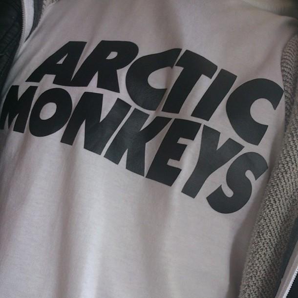 shirt arctic monkeys band t-shirt