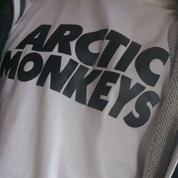 shirt arctic monkeys band t-shirt