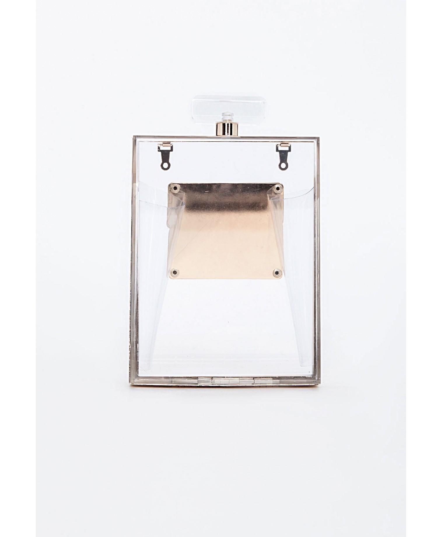 Paris box bag clear