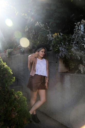 broke hell blogger asymmetrical skirt ripped fringed jacket