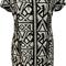 Alvena aztec print top