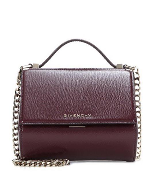 Givenchy mini bag shoulder bag leather red