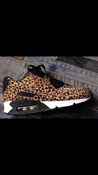 shoes lepoard print air max