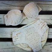 bikini,summer,swimwear,crochet