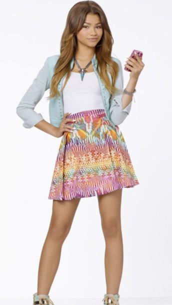 skirt blouse shirt
