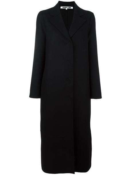 McQ Alexander McQueen coat women black wool