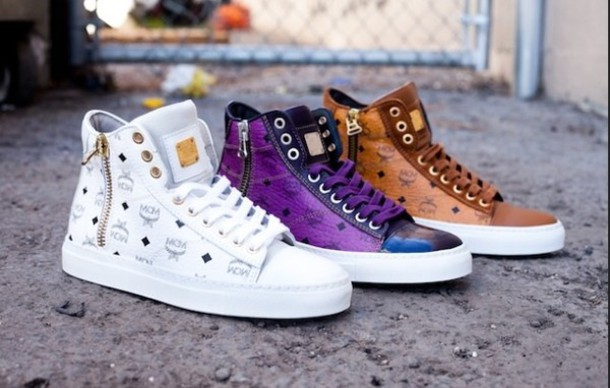 Shoes Mcm Sneakers Wheretoget