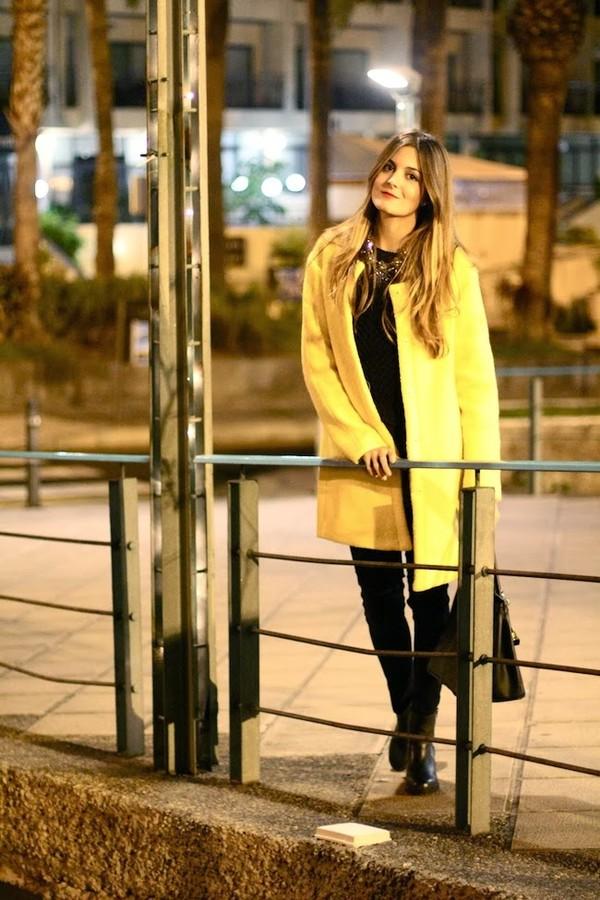 marilyn's closet blog coat sweater bag shoes jewels