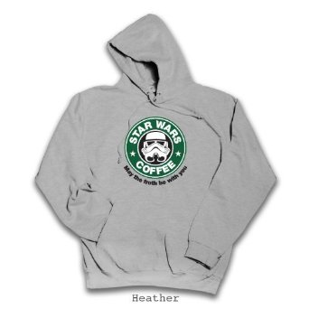 Star Wars, Starbucks parody Hoodie. All Sizes (Small - 3XL) 100% Cotton: Amazon.co.uk: Clothing