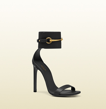 Gucci - ankle-strap leather sandal 319587A3N001000