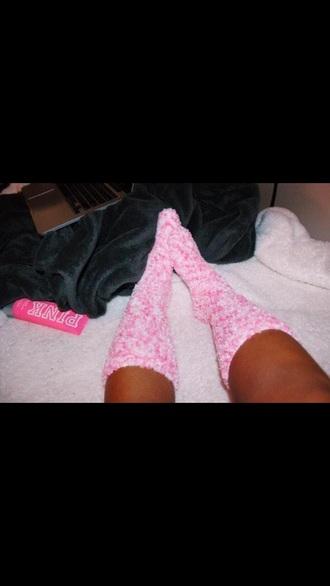 socks pink victoria's secret