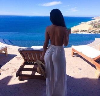 dress beige n'use summer summer dress romper nude style one piece