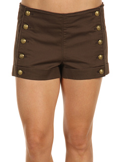 Juicy Couture Bedford Sailor Short (Bittersweet Brown) - Shorts